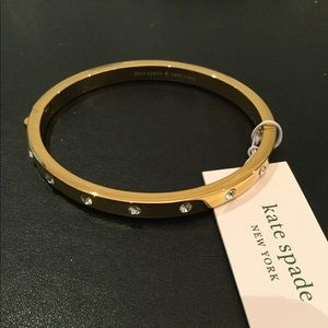 Kate Spade Set in Stone Gold Bangle